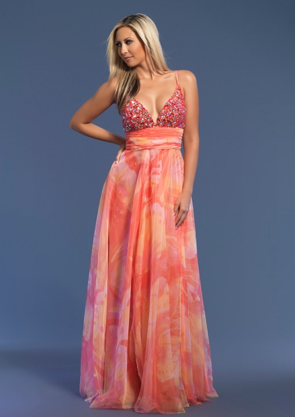 Dave and Johnny Prom Dress 7352