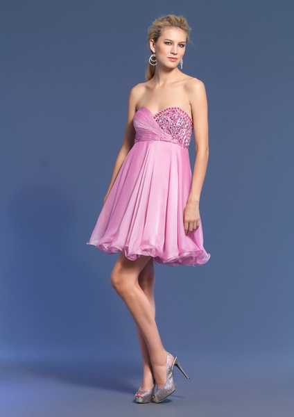 Dave and Johnny Prom Dress 7675