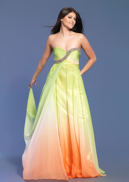 Dave and Johnny Prom Dress 7684