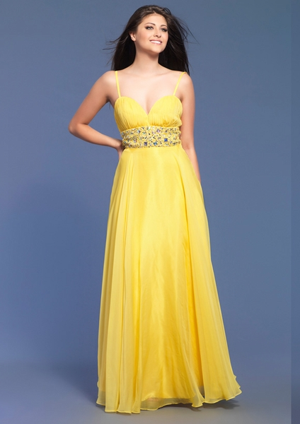Dave and Johnny Prom Dress 7708