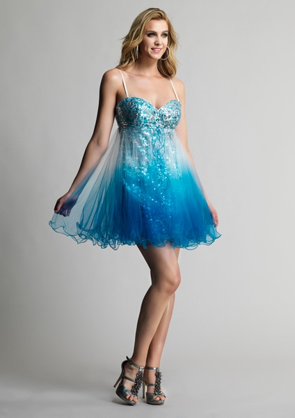 Dave and Johnny Prom Dress 8039