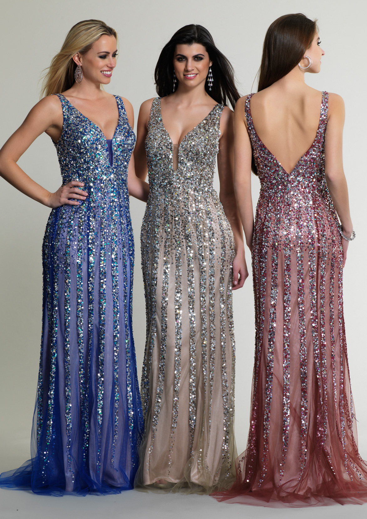 d91b4b9640c Dave and Johnny Prom Dress 8157W