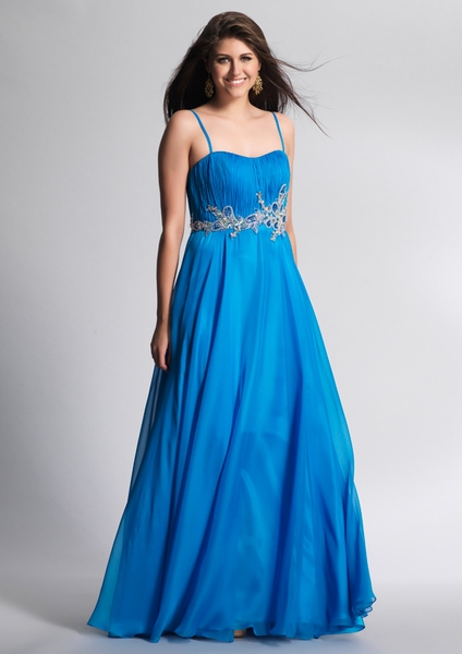 Dave and Johnny Prom Dress 8640
