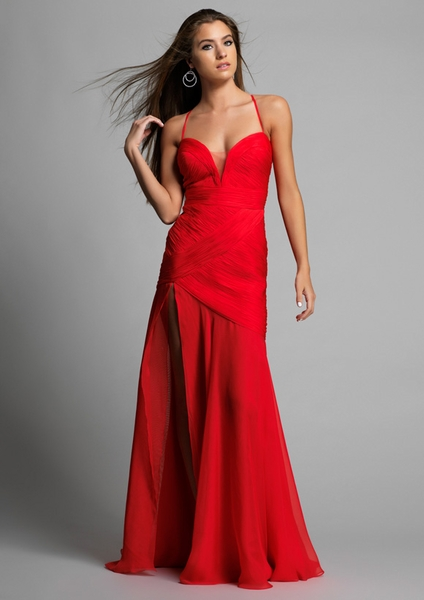 Dave and Johnny Prom Dress 8685