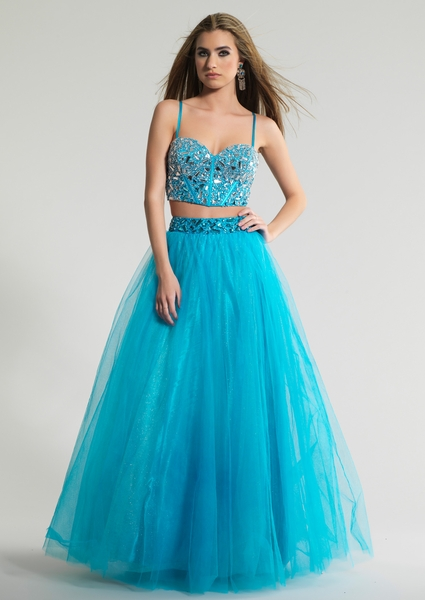Dave and Johnny Prom Dress 8817