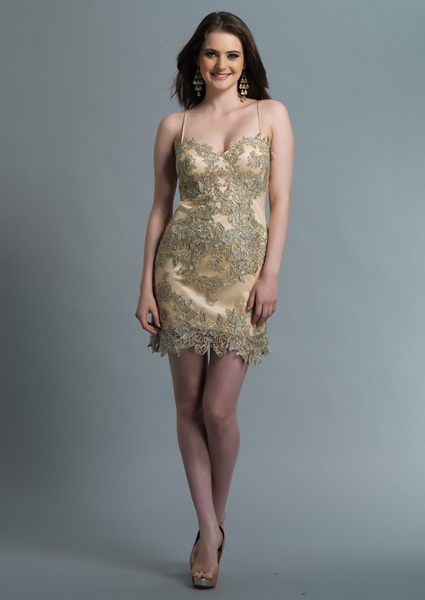 Dave and Johnny Prom Dress 887