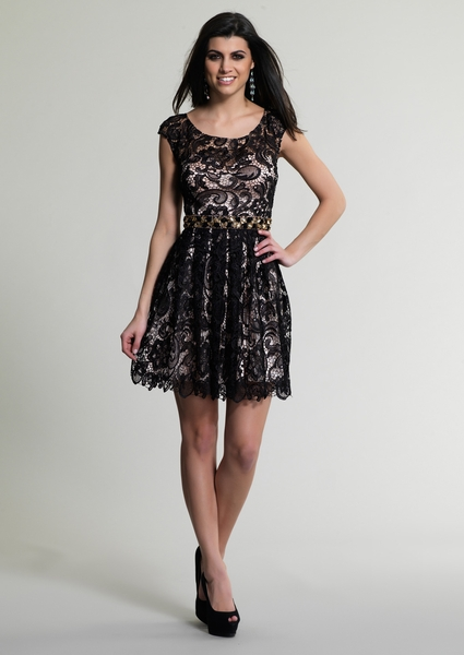Dave and Johnny Prom Dress 9099