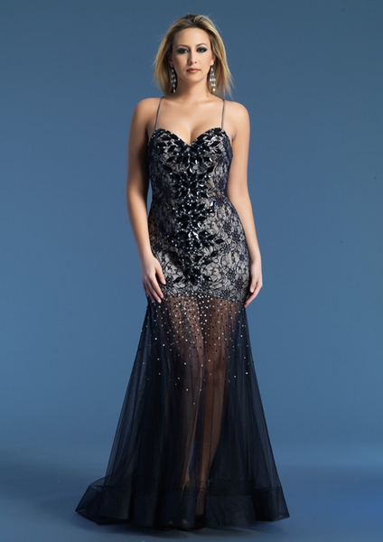 Dave and Johnny Prom Dress 9202