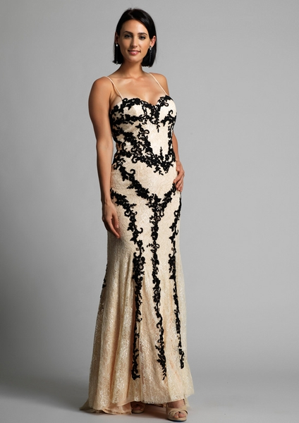 Dave and Johnny Prom Dress 9220