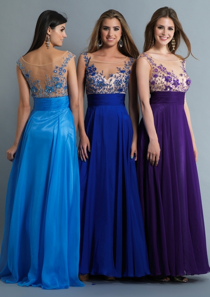 Dave and Johnny Prom Dress 9605