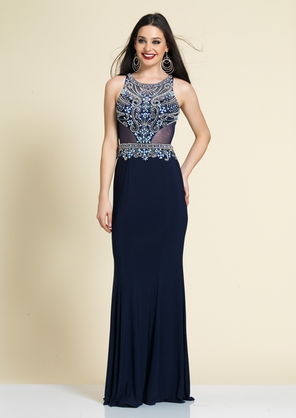 Dave and Johnny Prom Dress A4164