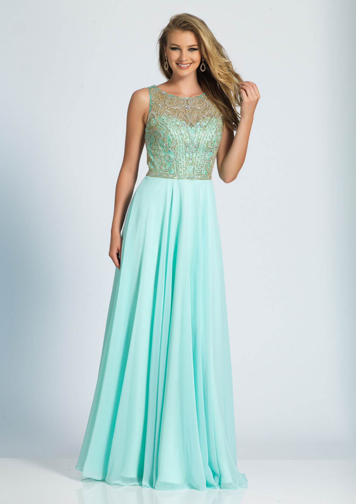Dave and Johnny Prom Dress A4168