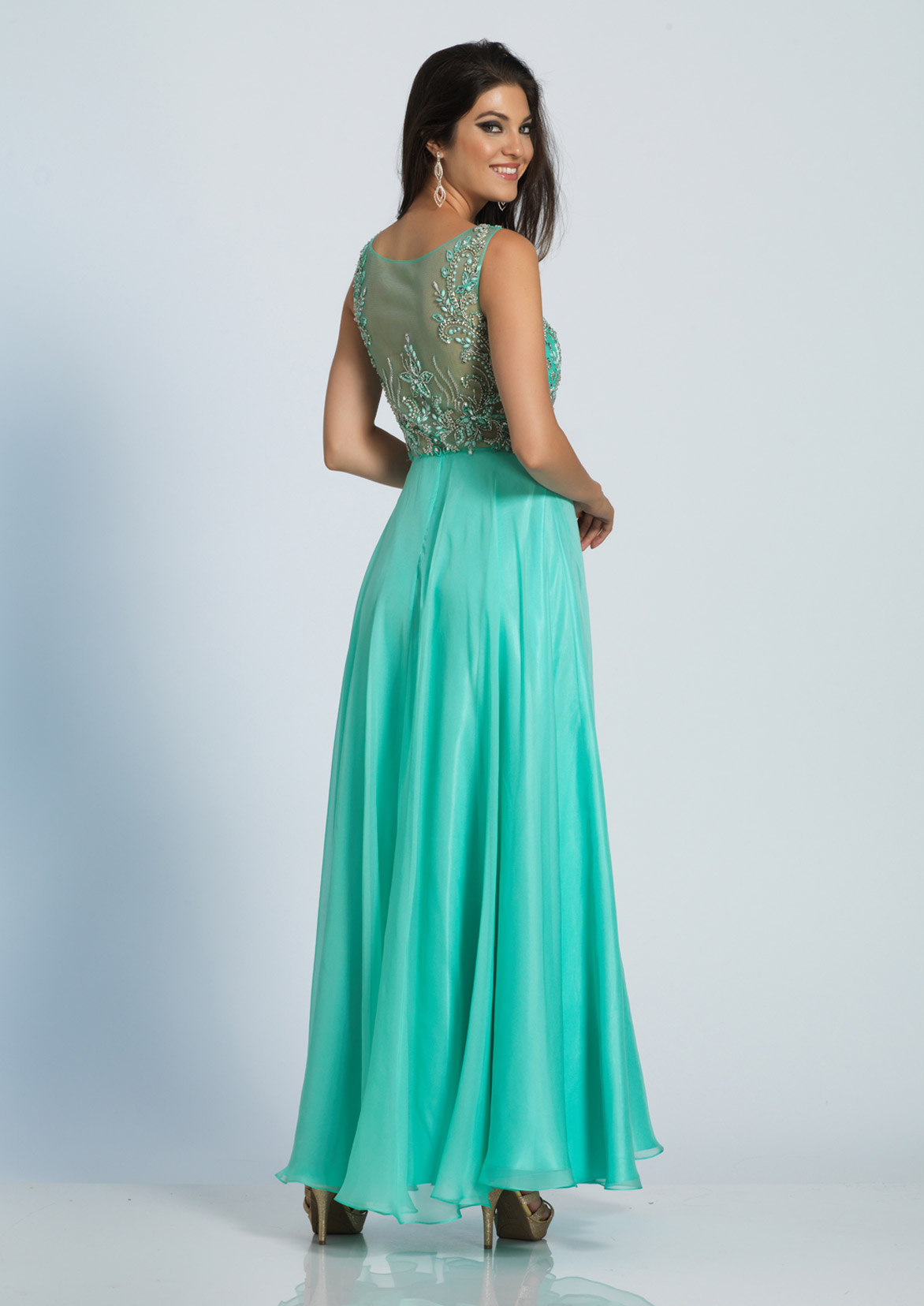 Dave and Johnny Prom Dress A4294