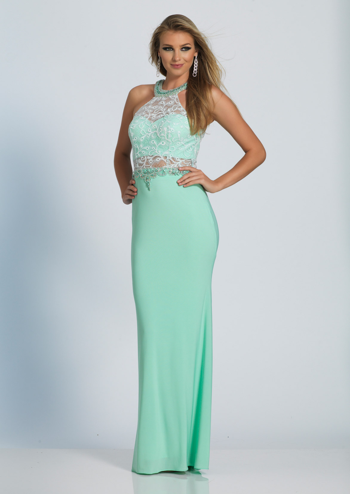 Dave and Johnny Prom Dress A4435