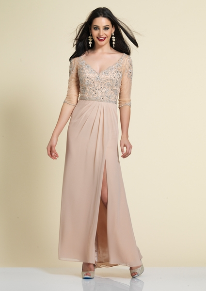 Dave and Johnny Prom Dress A4464