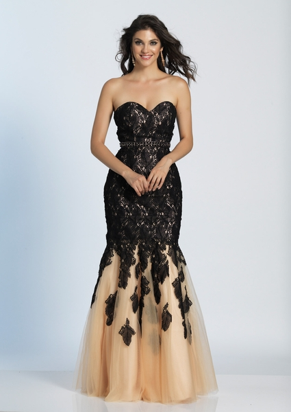 Dave and Johnny Prom Dress A4939W