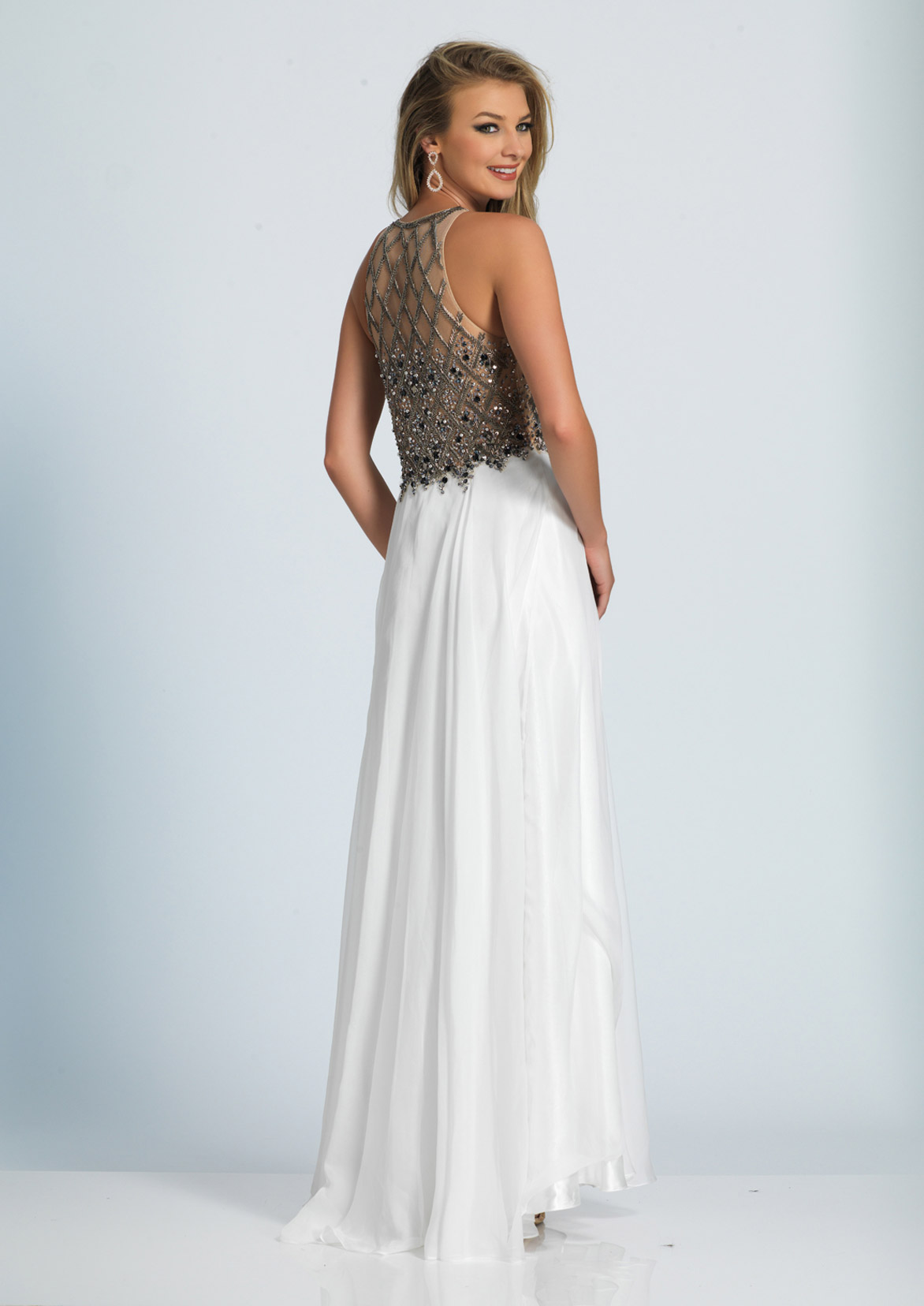 Dave and Johnny Prom Dress A4960