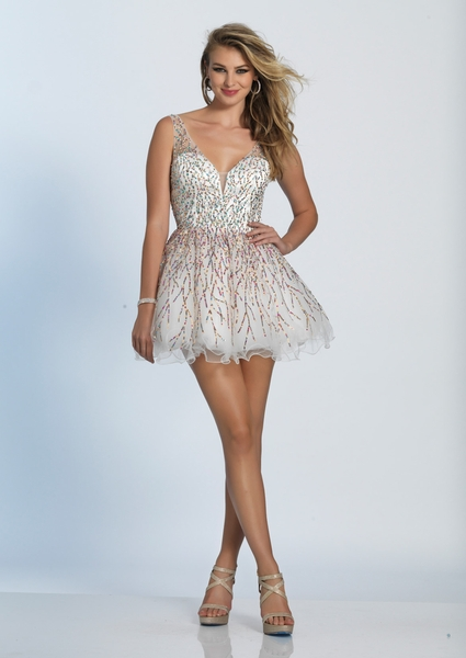 Dave and Johnny Prom Dress A4973