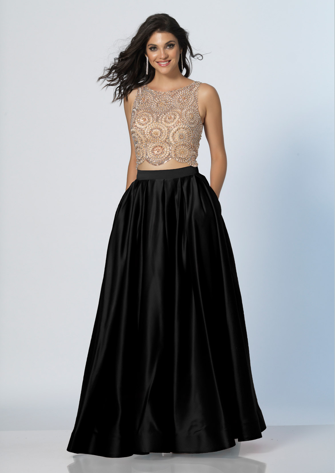 Dave and Johnny Prom Dress A5268