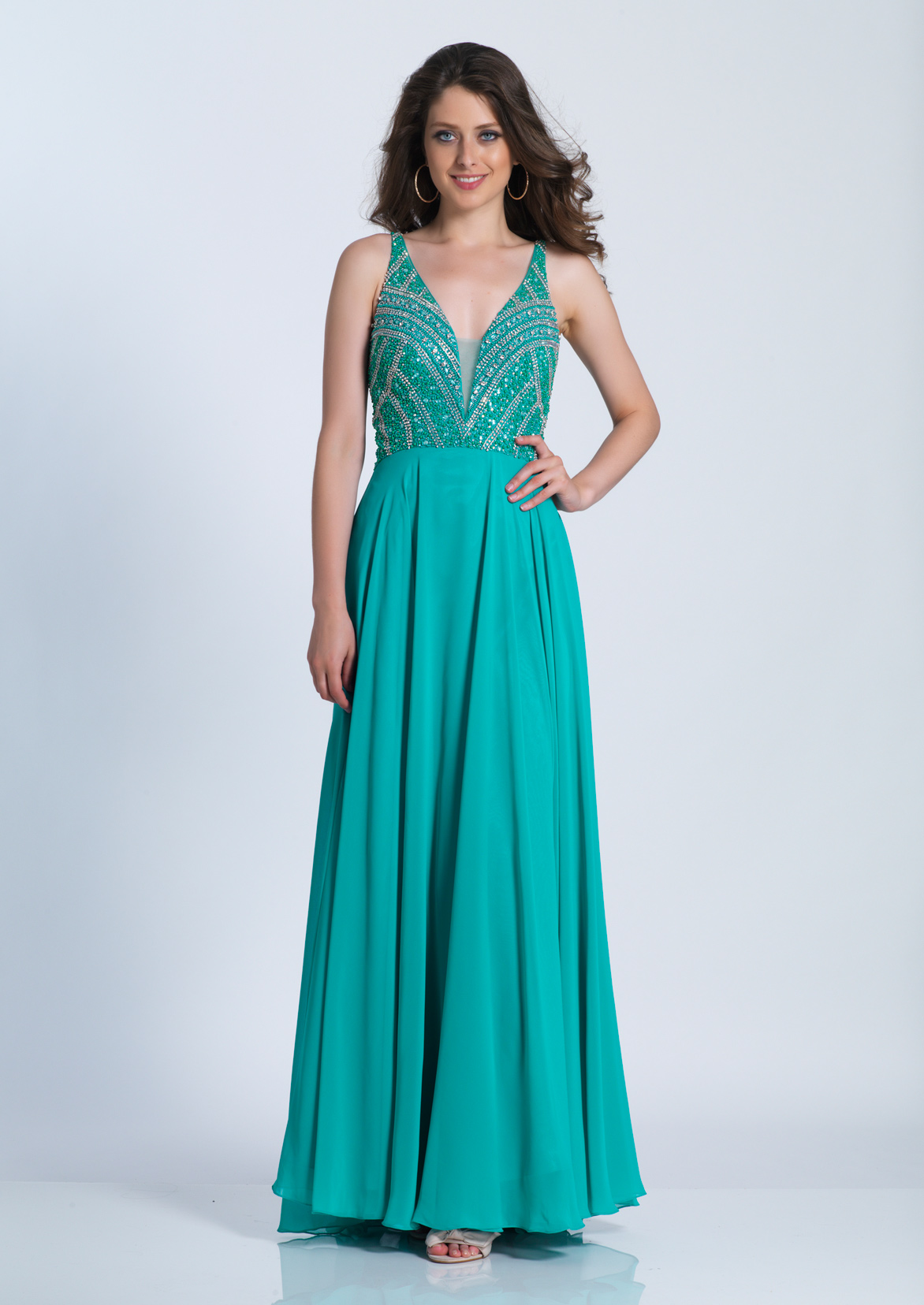 Dave and Johnny Prom Dress A6188W