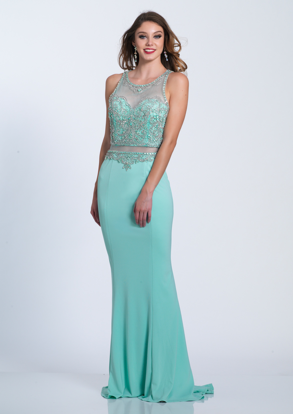 Dave and Johnny Prom Dress A6352