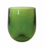 Bar Decor Whiskey Glass Green