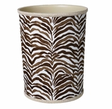 Bathroom Trash Cans Animal Print