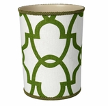 Bathroom Trash Cans Green Trellis
