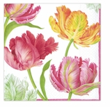 Beverage Napkins Tulip Dance