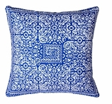 Block Pillow Navy