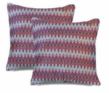 Chevron Pillows Red Missoni