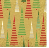 Christmas Between the Lines Lunch Napkins
