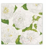 Christmas Dinner Napkins Ivory Garden