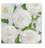 Christmas Dinner Napkins Silver Garden