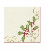 Christmas Embroidery Cocktail Napkins