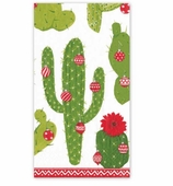 Christmas Hand Towels Cactus