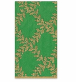 Christmas Hand Towels Green Crown