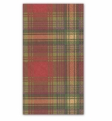 Christmas Hand Towels Highland Green