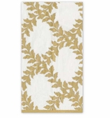 Christmas Hand Towels Ivory