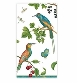 Christmas Hand Towels Jeweled Birds