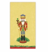 Christmas Hand Towels Nutcracker Gold