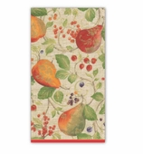 Christmas Hand Towels Pears Natural