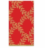 Christmas Hand Towels Red Crown