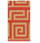 Christmas Hand Towels Red Greek