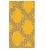 Christmas Hand Towels Yellow Crown