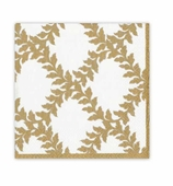 Christmas Napkins Ivory Crown