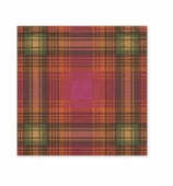 Christmas Napkins Lunch Plaid