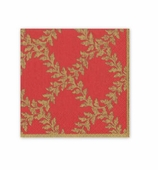 Christmas Napkins Red Crown