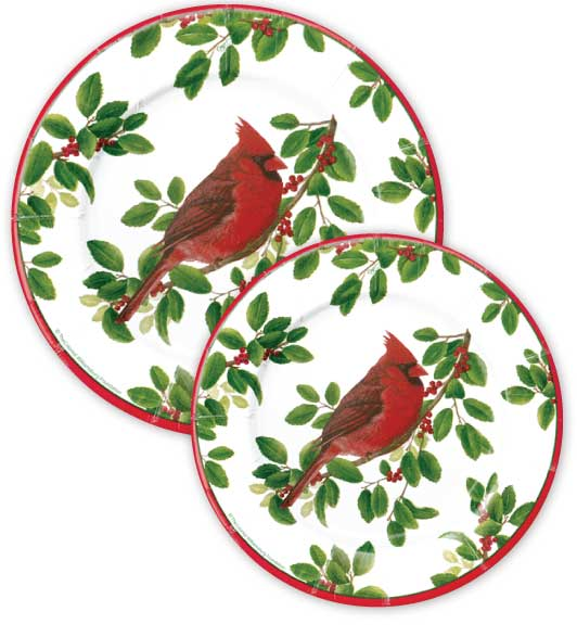 sc 1 st  Decorative Things & Christmas Paper Plates