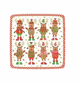 Christmas Paper Plates Dessert Sweater Party